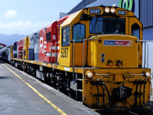 New Zealand's rail infrastructure