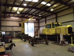 PLS PowerRail Locomotive Shop