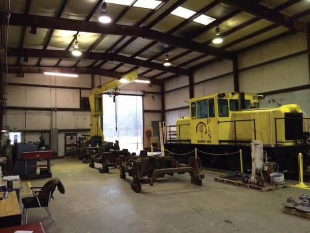PLS Customer Services Locomotive Shop