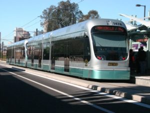 Valley Metro Light Rail Vehicle