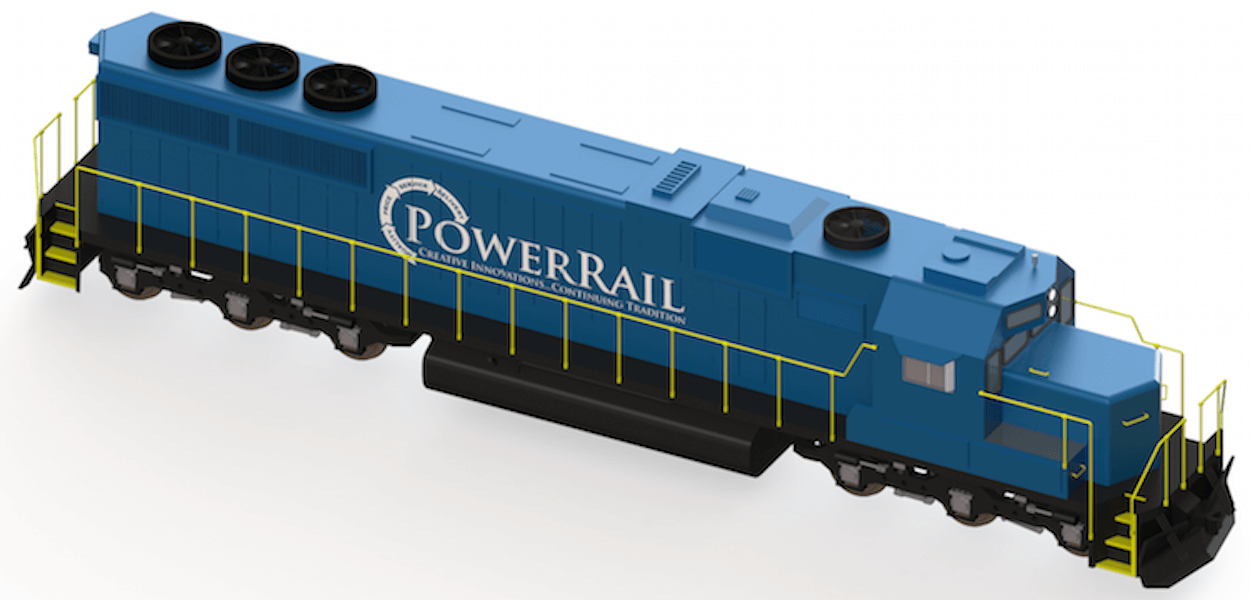 Locomotive Body Parts : Railway news powerrail new and remanufactured