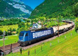 Bombardier Locomotive Platform