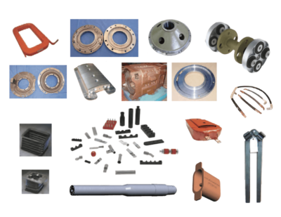 PowerRail Traction Motor Components
