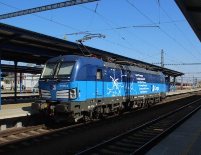 ČD Cargo Orders Additional Vectron Locomotives