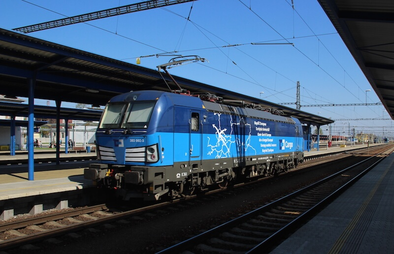 Vectron Locomotive