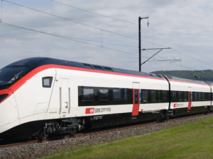 new Gotthard Tunnel train