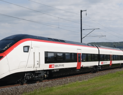 Stadler Presents the New Gotthard Tunnel Train