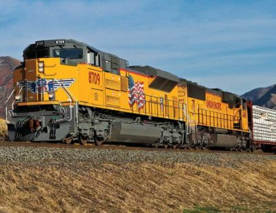 U.S. Rail Freight Traffic Up 3.4% in 2017