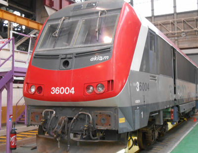 Alstom Wins Contract to Overhaul 23 Locomotives for Akiem