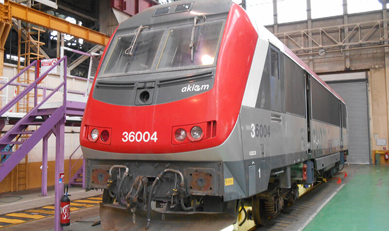 Alstoms Locomotive Maintenance