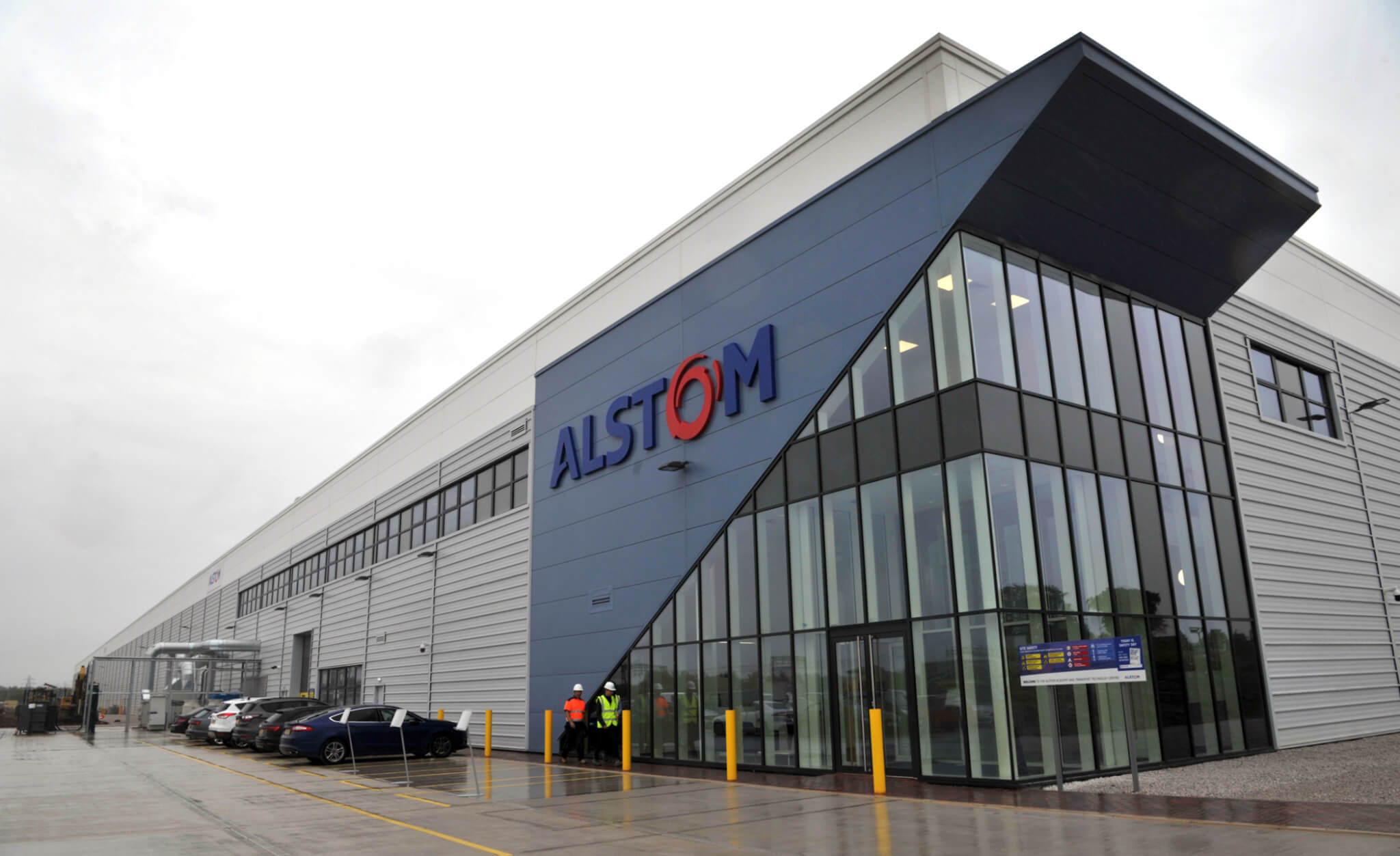Alstom opens its new rolling stock modernisation facility in the UK