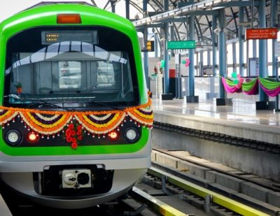 India: Bangalore Metro's Green Line Enters Commercial Service