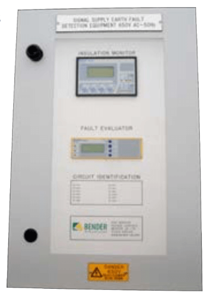 RS3 Integrated Insulation Monitoring and Earth Fault Location
