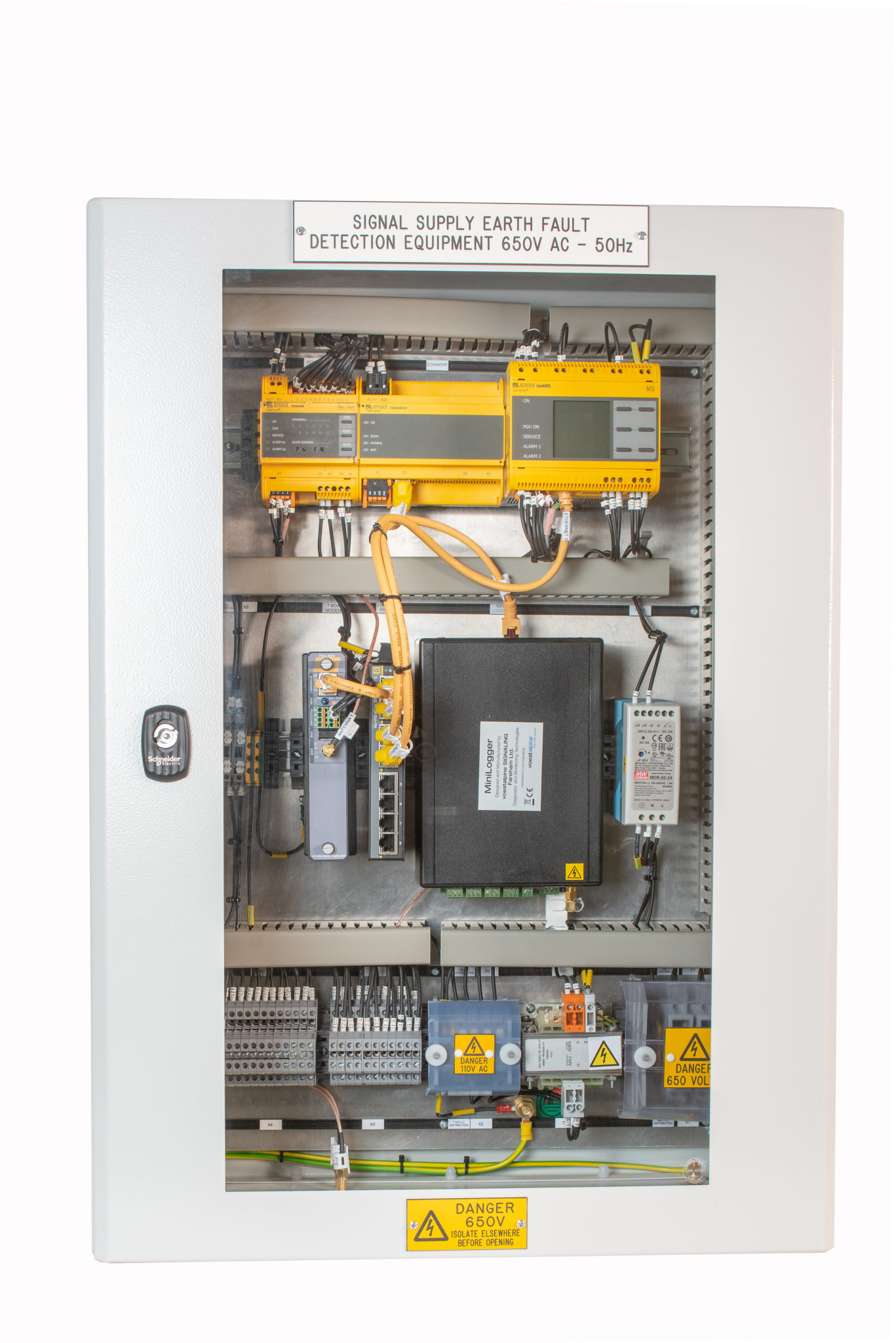 RS4 Tier 1 Rail Signal Power Protection Solution