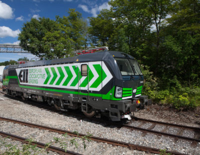Siemens Celebrates Order for 500th Vectron Locomotive
