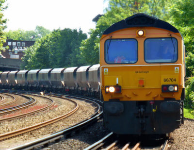 UK Rail Freight Continues to Decline