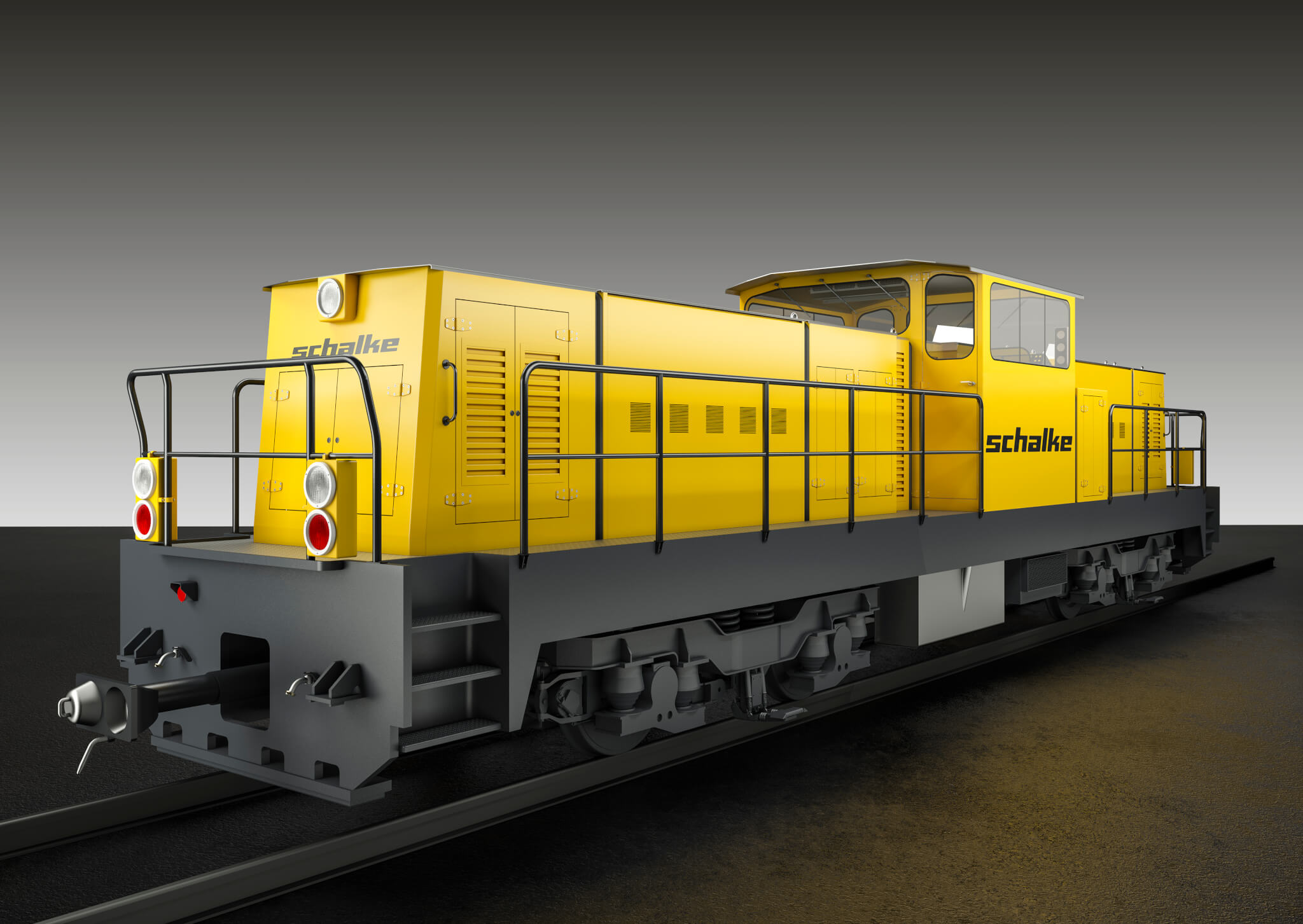 MT-S-600-BE Modular Multi-System Service and Shunting Locomotive