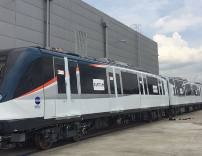 New Metropolis Train for Panama Metro Begins Service