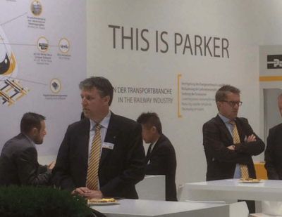 Parker Hannifin Demonstrate Total Solutions Approach at InnoTrans 2016