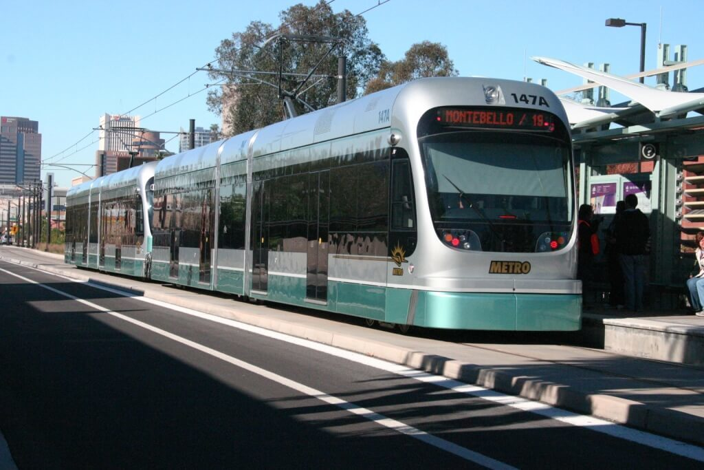 Phoenix Light Rail Vechicles
