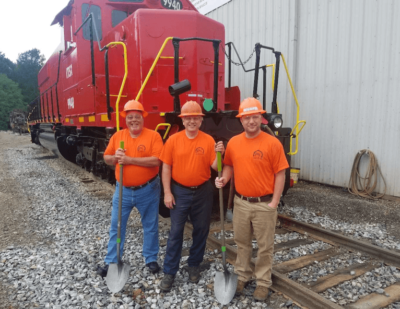 PowerRail Locomotive Services Celebrate Expansion