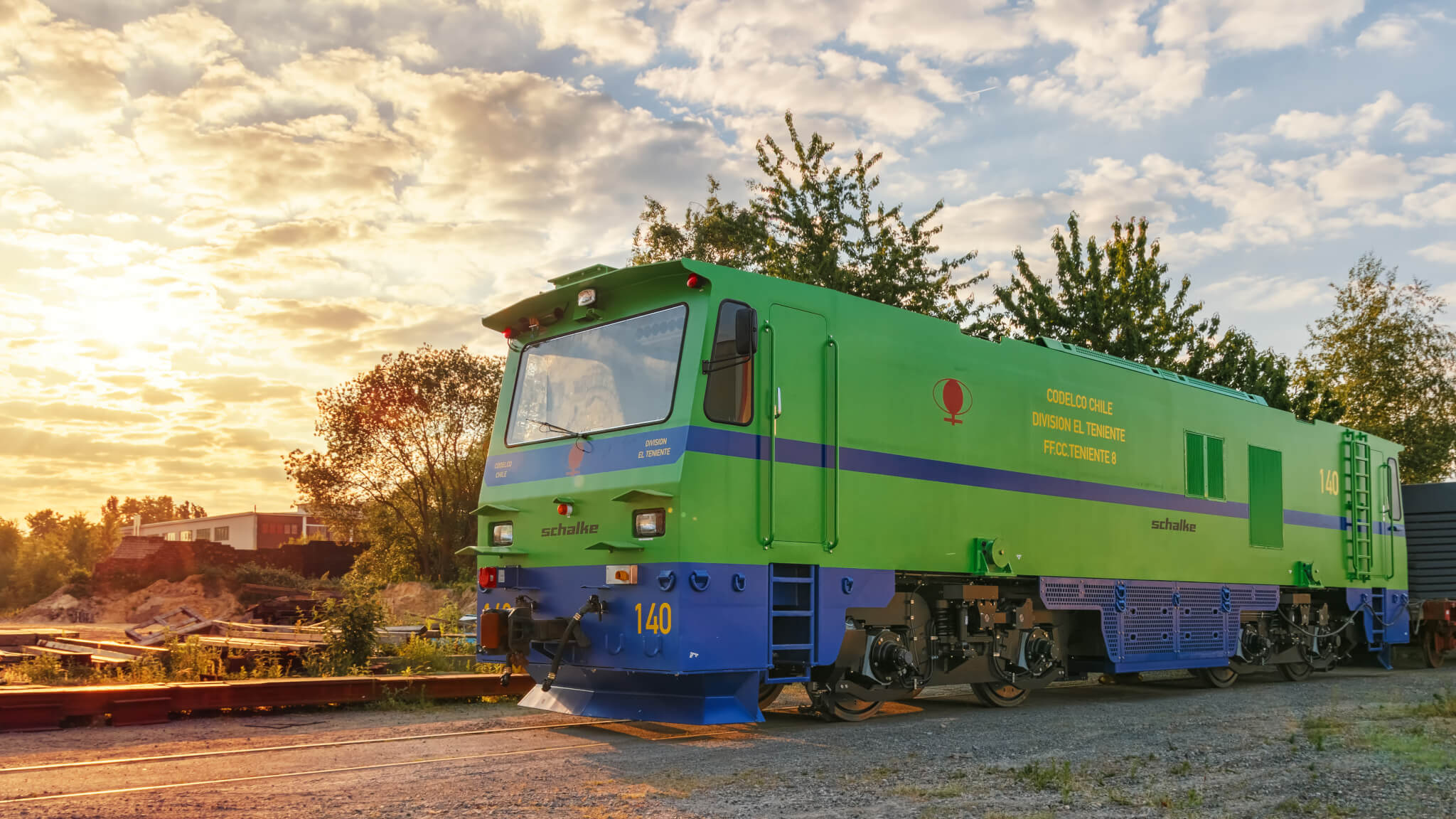 ST-M-1600-E Production Locomotive CODELCO, Chile, Mine El Teniente 8