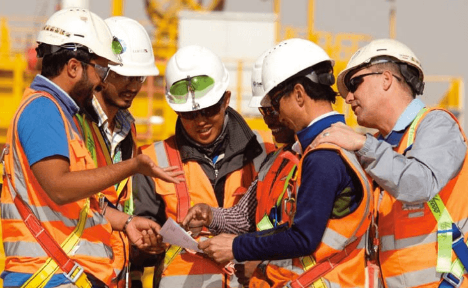 Riyadh metro construction