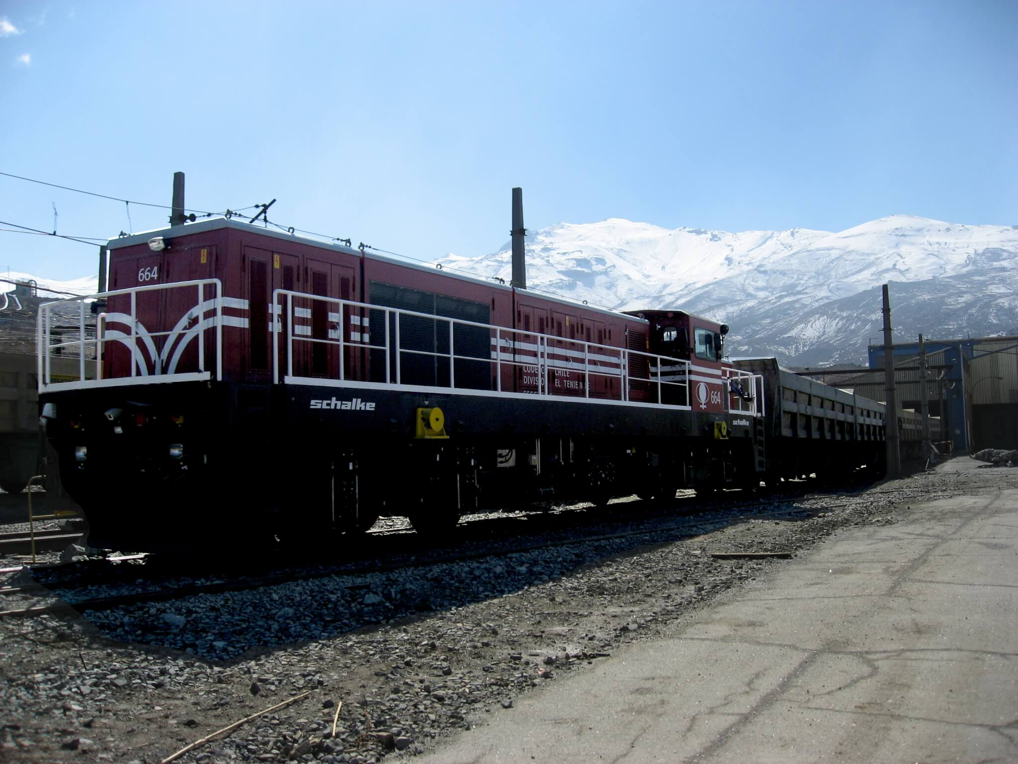ADE1380-X108 Service Locomotive CODELCO, Chile, Mine El Teniente 8