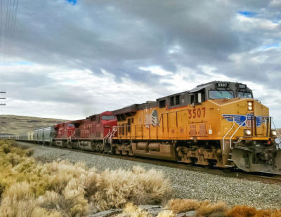 Union Pacific to Spend $5.1 Million on its Washington Rail Infrastructure
