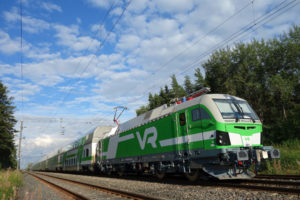 First Vectron Locomotives Enter Service in Finland