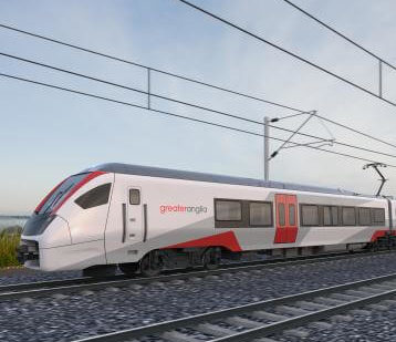 Greater Anglia Unveils Interior Plans for New FLIRT Trains