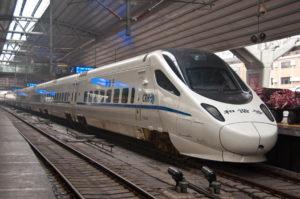 China Railway Pilot Run of New Energy Trains