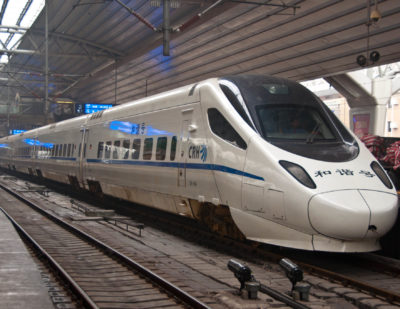 China Railway Pilot Run of New Energy Trains
