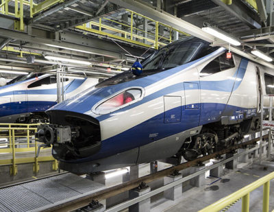 Alstom Begins Overhaul of PKP Intercity's Pendolino Trains