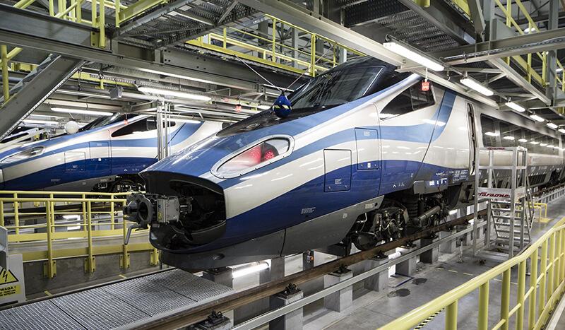 Pendolino Trains