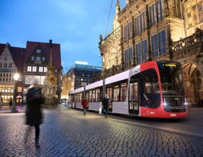 Germany: Bremen Orders New Tram Fleet from Siemens