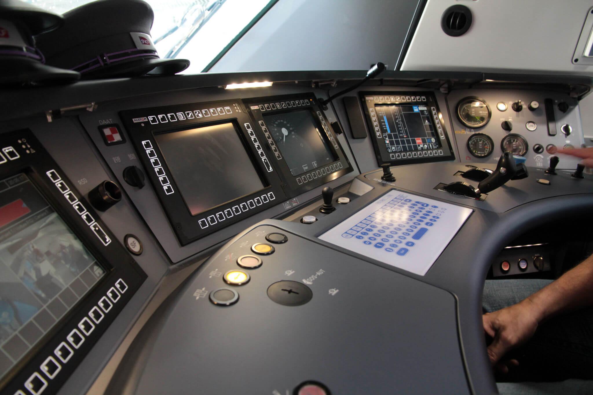 Train HMI Driver