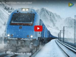 China-Belarus Electric Locomotive