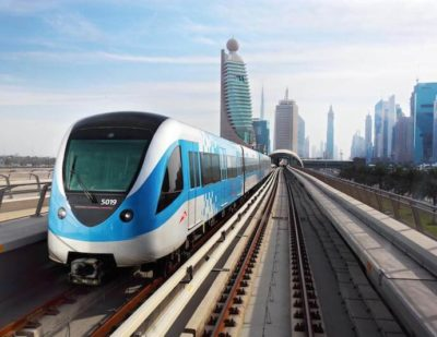 RTA Inspects Progress of New Trains for Dubai Metro