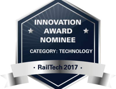 Amberg Technologies Nominated for RailTech Innovation Award 2017