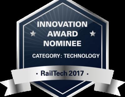 Amberg Technologies Nominated for RailTech Innovation Award 2017