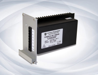 19″ Plug-In Unit with 150 W for Railway Applications