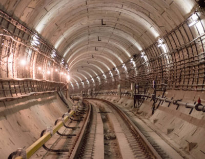 Construction Underway on Moscow's New Metro Line