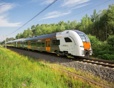 Siemens Presents First Rhine-Ruhr Express Prototype