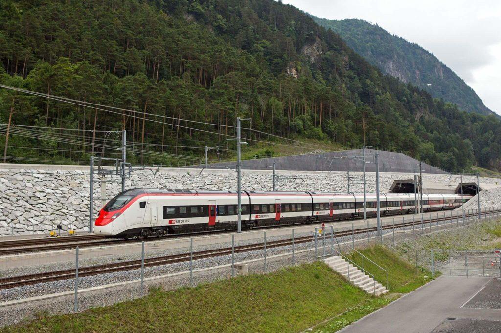 Giruno Train Gotthard Base Tunnel