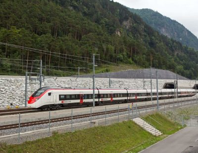 Stadler's Giruno Makes First Journey Through Gotthard Base Tunnel
