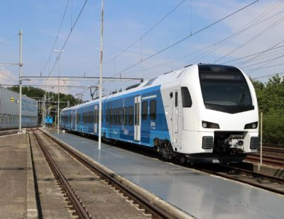 Stadler Unveils Plan for New Vehicle Maintenance Depot