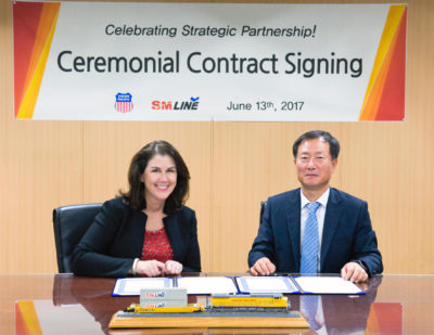 Union Pacific Celebrates New Intermodal Partnership