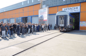 Production of Double-Deck Railcars for Trenitalia Completed