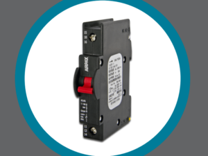 Rail-Mount Hydraulic Magnetic Circuit Breakers
